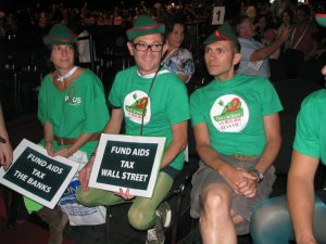 Activism at AIDS 2010, Vienna